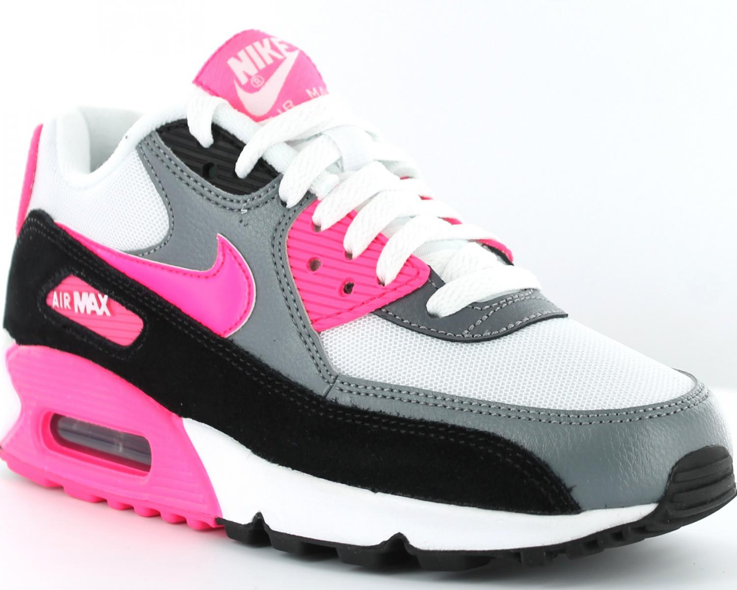 air max 90 rose et blanc