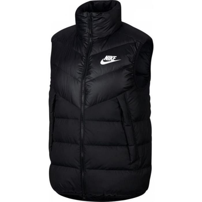 Doudoune Nike Sportswear Windrunner BleuVert   FootKorner