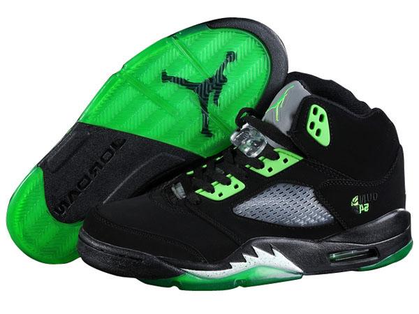 homme air jodan 5 noir et verte,Nike Air Jordan 5 Retro Homme ...