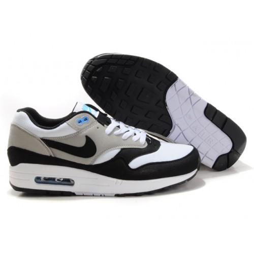 homme air max 1 gris et noir et blanche,Air Max 1 Chaussures