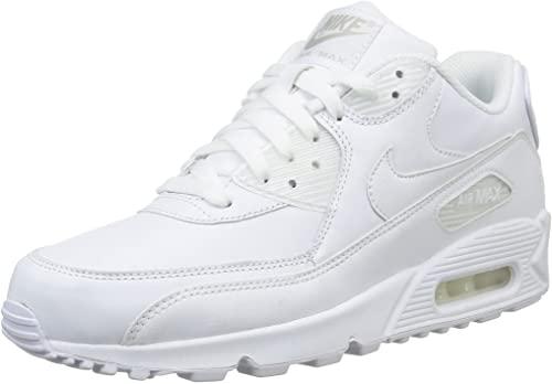 nike air max 90 blanc homme,Nike AIR MAX 90 LEATHER Blanc
